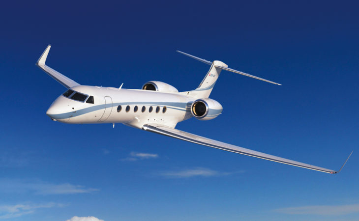 Gulstream G550 in Innsbruck Image